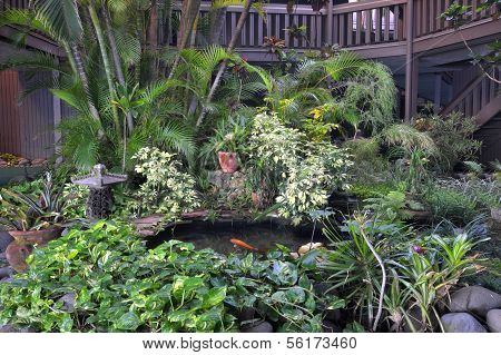 Indoor Tropical Garden