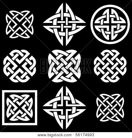 Celtic Quaternary knots collection