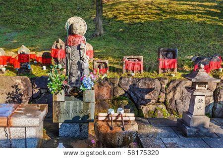 Jizo Bodhisattva at Kofukuji Temple in Nara