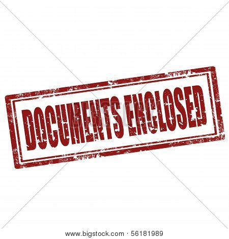Documents Enclosed-stamp