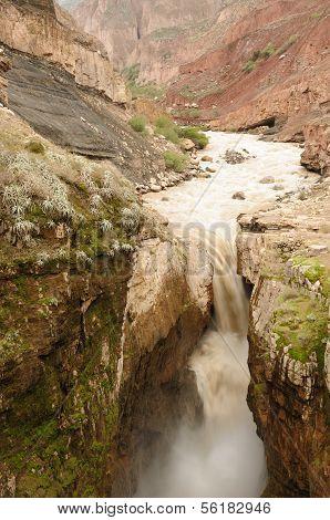 Peru, Sipia Waterfalls