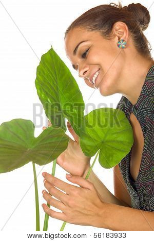 Women Maintain Plant