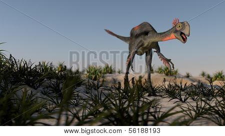 walking gigantoraptor