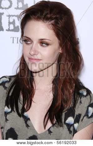 LOS ANGELES - SEP 7: Kristen Stewart at the In Touch VMA Post Party held at the Chateau Marmont, Hollywood, California, California. September 7, 2008.
