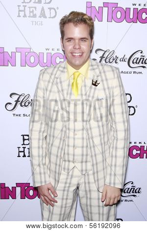 LOS ANGELES - SEP 7: Perez Hilton at the In Touch VMA Post Party held at the Chateau Marmont, Hollywood, California, California. September 7, 2008.