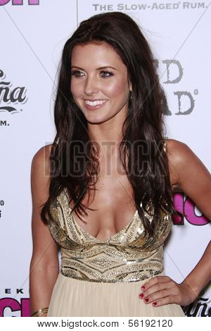 LOS ANGELES - SEP 7: Audrina Patridge at the In Touch VMA Post Party held at the Chateau Marmont, Hollywood, California, California. September 7, 2008.