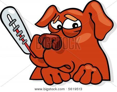 ill dog icon