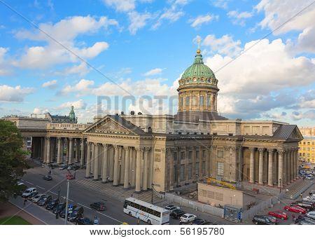 Kazan Cathedral in Saint Petersburg, Russia