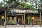Entrance to Zoo Atlanta