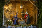 pic of nativity scene  - Nativity Scene Christmas - JPG