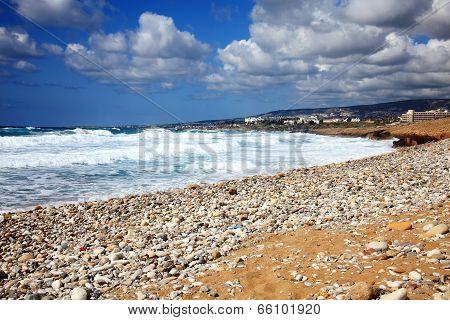 Helios Bay near Paphos, Cyprus