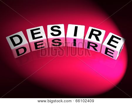 Desire Dice Show Desires Ambitions And Motivation