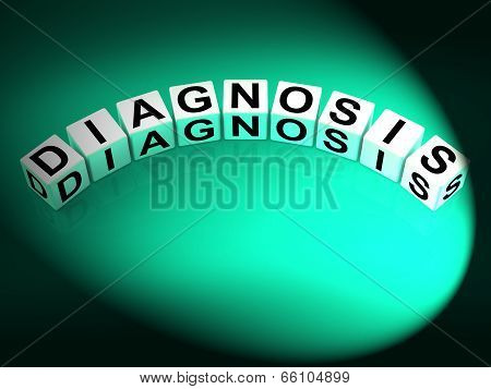 Diagnosis Dice Mean To Analyze Discover Determine And Diagnose