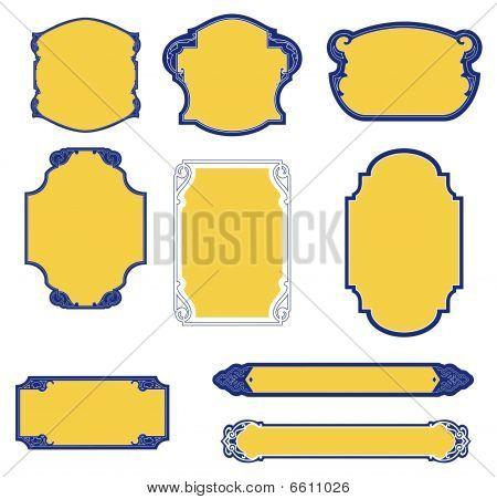 Oriental Frame Pattern
