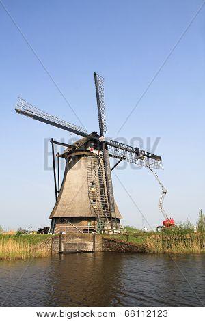 Modern Don Quixote.