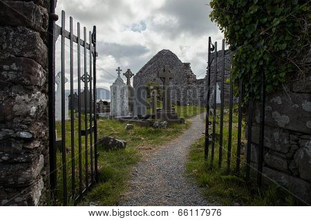 Ballinskelligs Priory, Kerry, Ireland