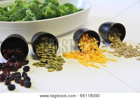 Broccoli Salad Ingredients