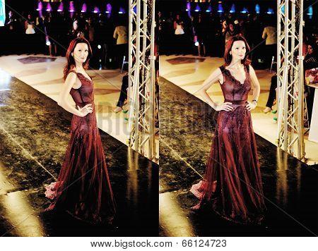 Fashion Show For Gelan El-hommosani Model 07 (collage)