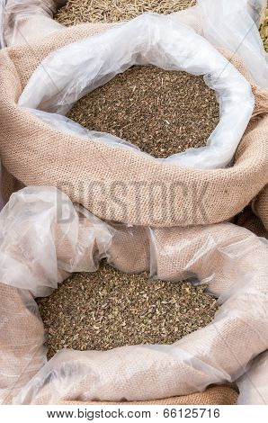 Bags With Marjoram And Mint
