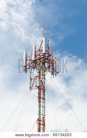 Signal Transmission Pole