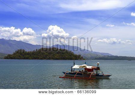 Philippines Fishing Boat.