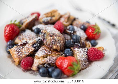 Kaiserschmarrn - German pancakes