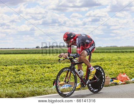 The Cyclist Marcus Burghardt