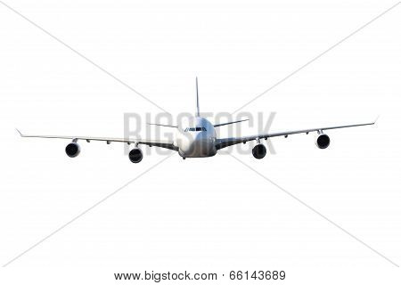Large White Plane