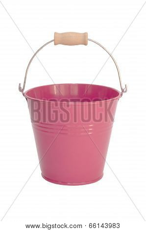 Bucket isolated on  white