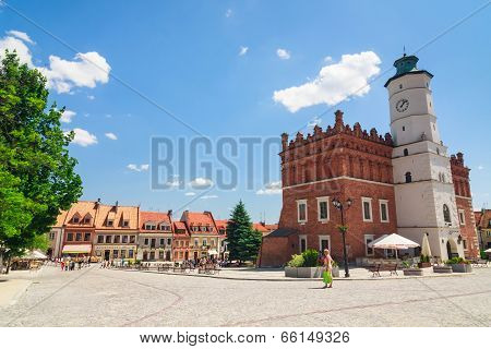 Sandomierz Is Known For Its Old Town