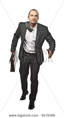 Businessman Running