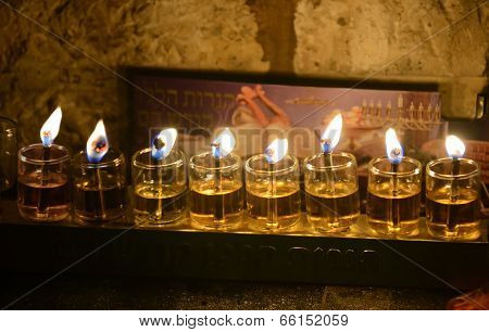 Chanukkah Candles