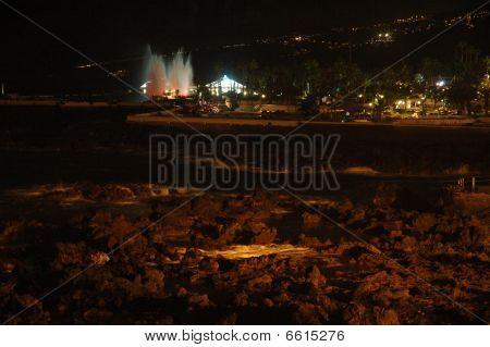 Puerto De La Cruz  by night