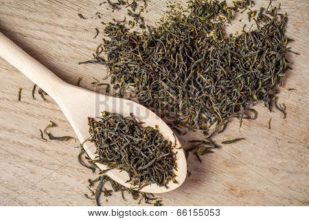 Loose Dried Green Tea