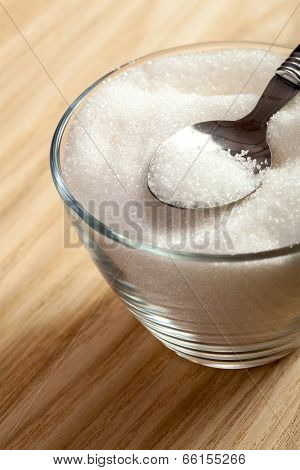 Spoon In A Bowl Of Sugar