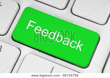 Green feedback button