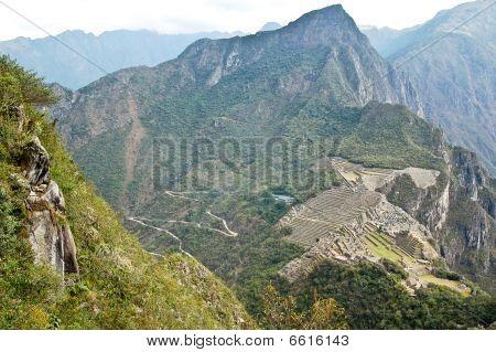 Mach Picchu - Bird Eye View
