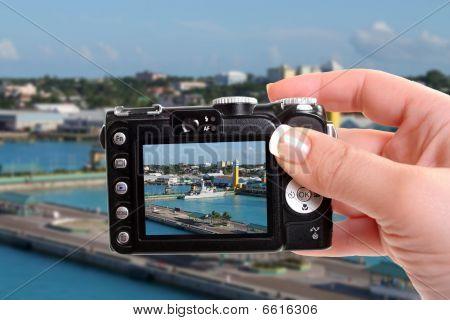 Snapshot Of Nassau Port