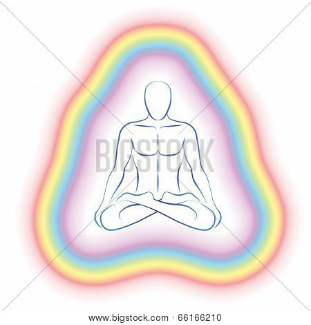 Aura Meditation Subtle Body Man