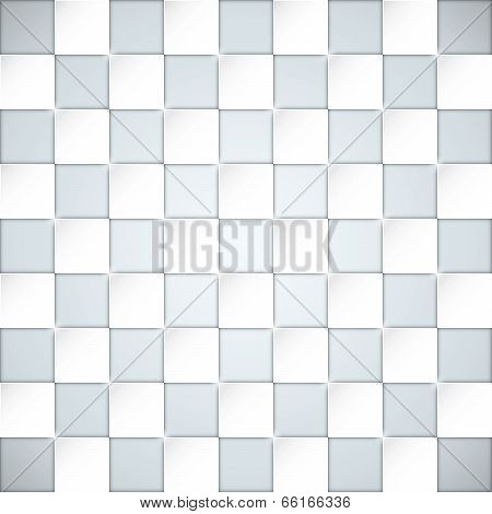 Glassy boxes blocks vector background