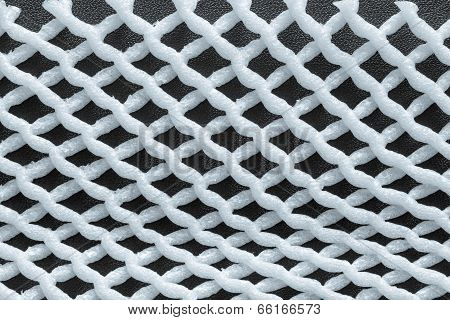 Combination Silvery Grid Gray On A Dark Background