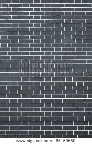 Texture Brick Wall Light Black And Silvery Color