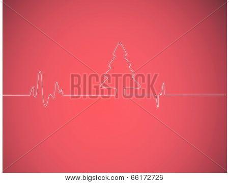 Christmas Tree electrocardiogram