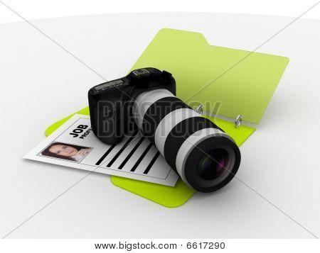 Photographer Resume Folder