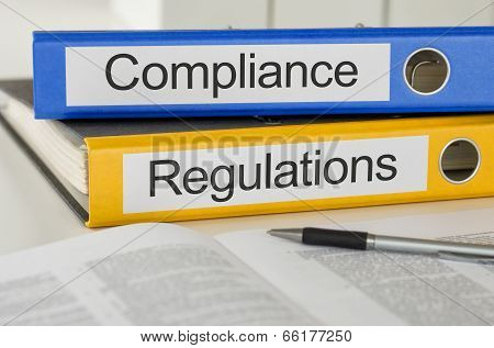 Folders with the label Compliance and Regulations