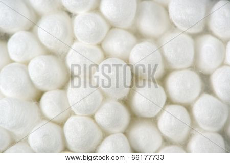 Cotton Buds (Swabs) Close-up