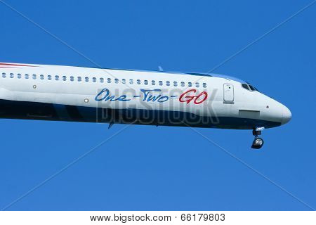 HS-OMC MD-82 of One two go airline