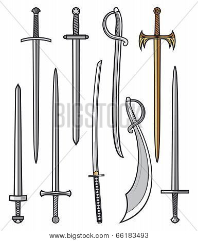 swords collection