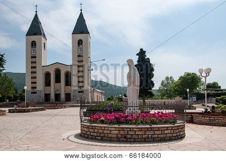 Pilgrimage church in Medjugorje