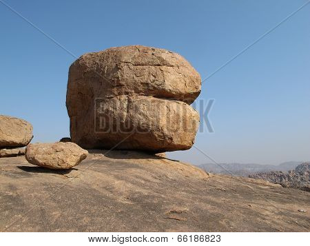 Unique Granite Boulder